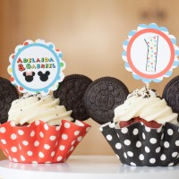 1. Cumpleaños de Gabriel y Adelaida junto a Mickey y Minnie
