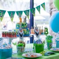 3. Cumpleaños de Alejandro junto a Olaf