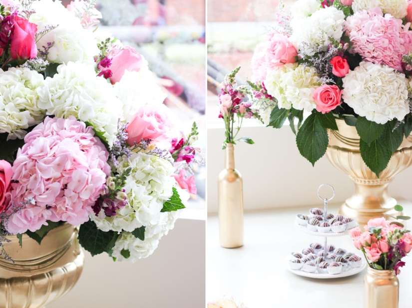 flores postres