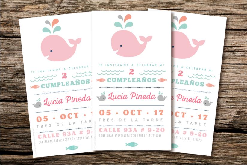 Invitación Lucía