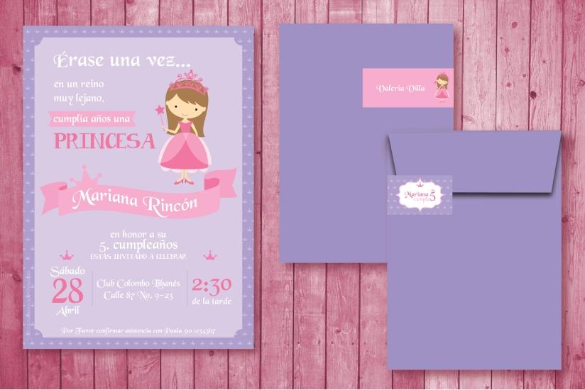 invitación Princesita Mariana-01