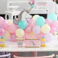 6. Cumpleaños de Mariana - Unicornios y arcoiris